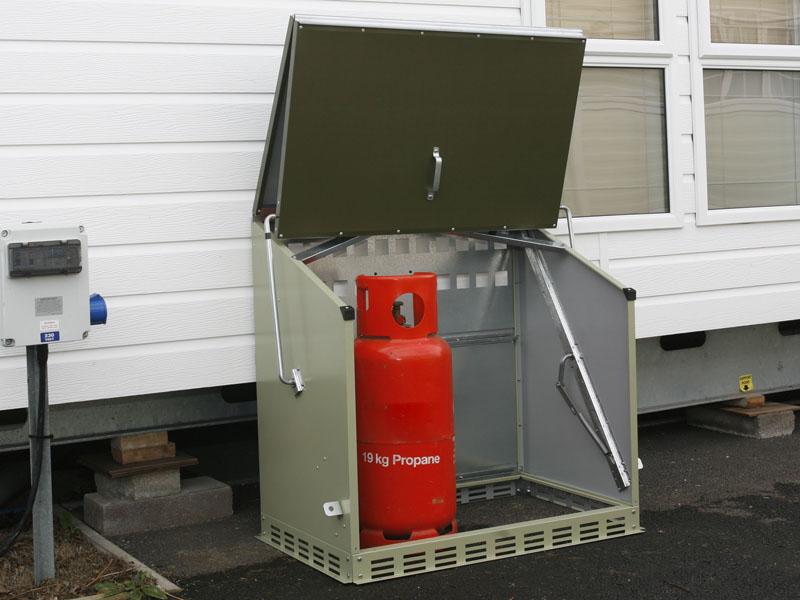 contenitore bombole gas sentinel lpg