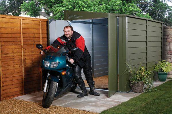 box per moto titan 950