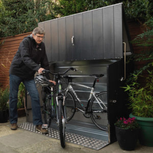 Box per biciclette Bicycle Store con rampa